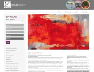 brookgallery.co.uk screenshot
