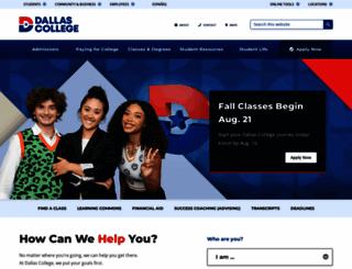 brookhavencollege.edu screenshot