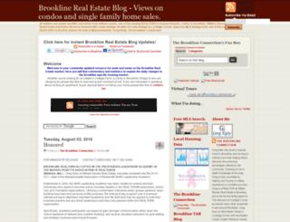 brooklinerealestate.blogspot.com screenshot