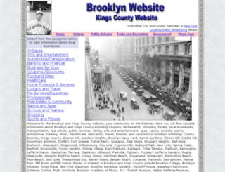 brooklyn-website.com screenshot