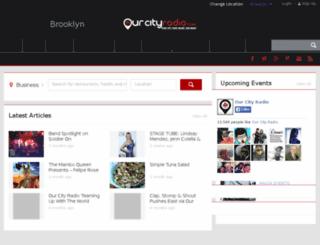 brooklyn.ourcityradio.com screenshot