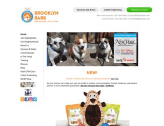 brooklynbark.com screenshot