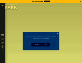 brooklynbridgepark.org screenshot