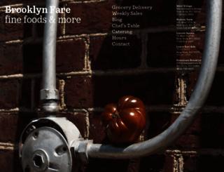 brooklynfare.com screenshot
