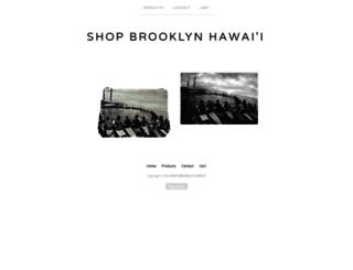 brooklynhawaii.bigcartel.com screenshot