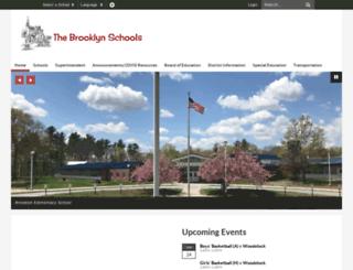 brooklynschools.org screenshot
