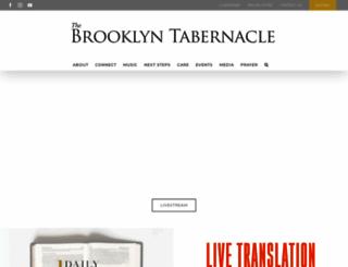 brooklyntabernacle.org screenshot