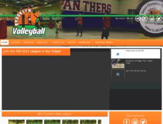 brooklynvb.leaguer.org screenshot