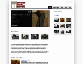 brooklynvisualheritage.org screenshot