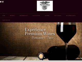 brookmerewine.com screenshot