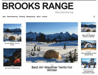 brooks-range.com screenshot