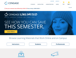 brookscole.cengage.com screenshot