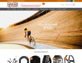 brookscycles.co.uk screenshot