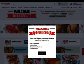 brookshires.com screenshot