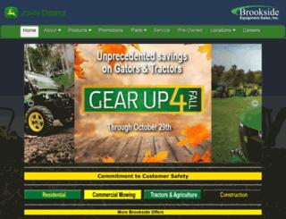 brooksideusa.com screenshot