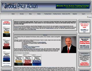 brookspriceaction.com screenshot