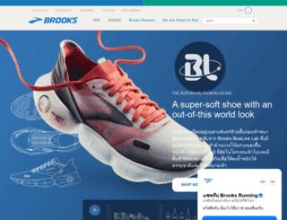brooksthailand.com screenshot