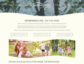brookstoneonthepark.com.au screenshot