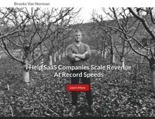 brooksvannorman.com screenshot