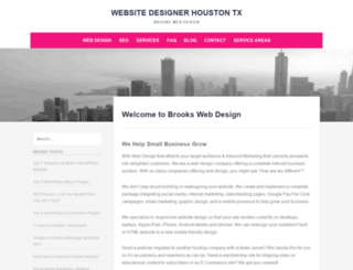 brookswebdesign.net screenshot