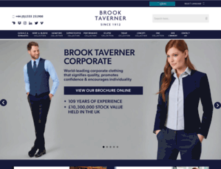brooktaverner.com screenshot