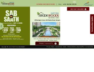 brookwoods.in screenshot