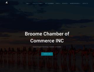 broomechamber.com.au screenshot