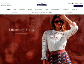 brora.co.uk screenshot