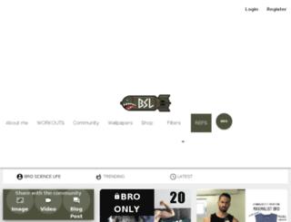 brosciencelife.co screenshot