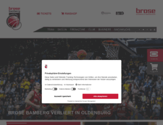 brosebaskets.de screenshot