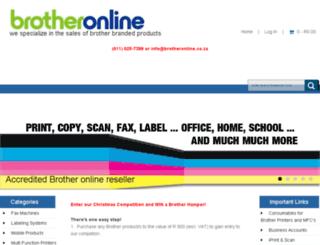 brotheronline.co.za screenshot
