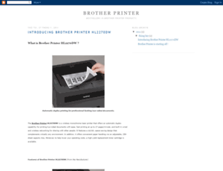brotherprinter.blogspot.com screenshot