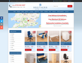 brothersofficefurniture.co.uk screenshot