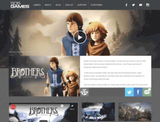 brothersthegame.com screenshot