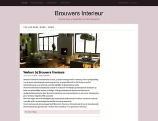 brouwersinterieurs.nl screenshot