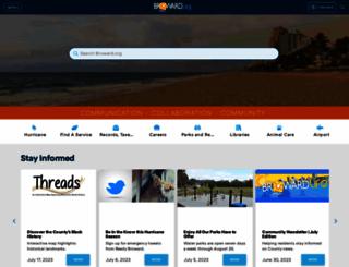 broward.org screenshot