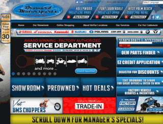 browardmotorsport.com screenshot