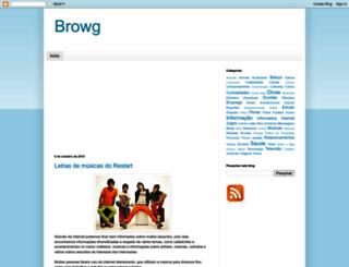 browg.blogspot.com screenshot