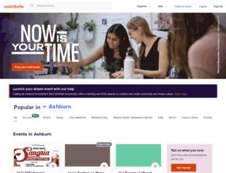 brownbones.eventbrite.com screenshot