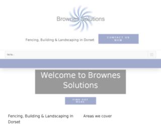brownessolutions.co.uk screenshot