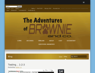 brownieandcocomic.co.uk screenshot