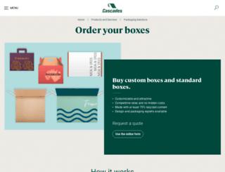 brownpak.com screenshot