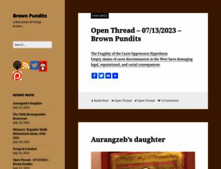 brownpundits.com screenshot