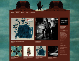 brownswoodrecordings.bandcamp.com screenshot