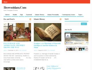browseislam.com screenshot