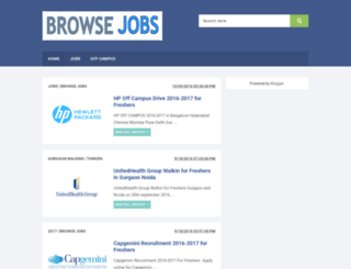 browsejobs.blogspot.in screenshot