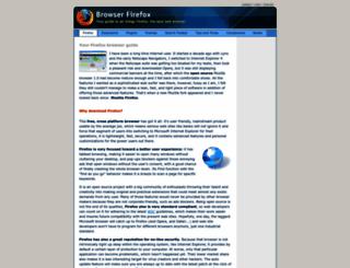 browserfirefox.com screenshot