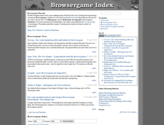browsergame-index.de screenshot