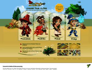 browsergame.miramagia.com screenshot