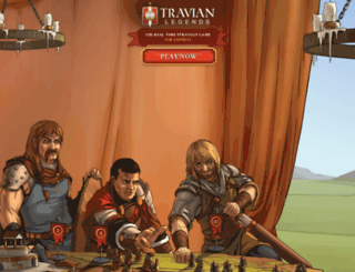 browsergame.travian.in screenshot